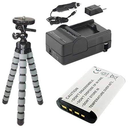 Syenrgy Digital Camcorder Accessory Kit Works with Sony HDR-CX440 Camcorder Includes: SDNPBX1 Battery, SDM-1559 Charger, GP-22 Tripod