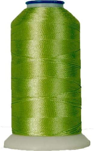 Threadart Rayon Machine Embroidery Thread - No. 202 - Peapod - 1000M - 145 Colors