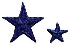 Achievement Star Patch - Blue - 2