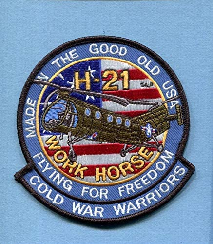 Embroidered Patch-Patches for Women Man- Piasecki H-21 Shawnee