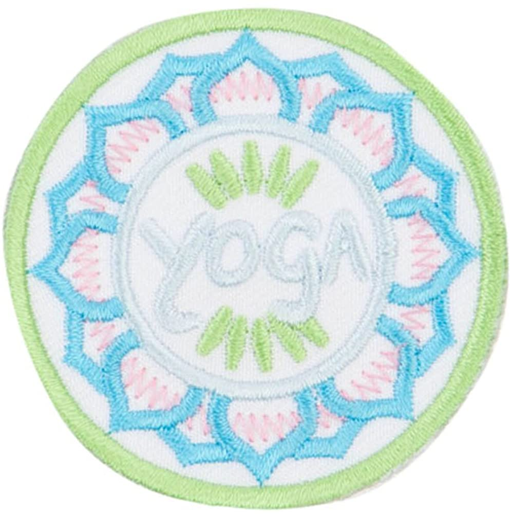 Yoga Embroidered Patches