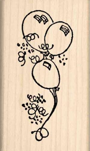 Stamps by Impression Balloons Rubber Stamp