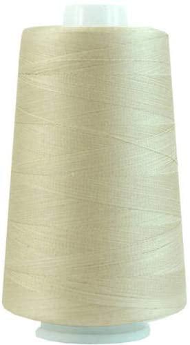 Threadart Heavy Duty Cotton Quilting Thread 2500 Meter Cones - 40/3 - Color 670 - Lt. Khaki - 19 Colors Available