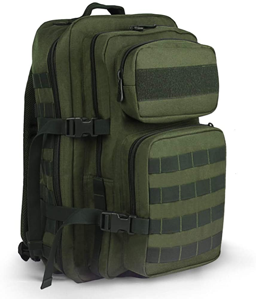 SMONT 35L Tactical Backpack Military Molle 3 Day Assault Pack Hiking Rucksack