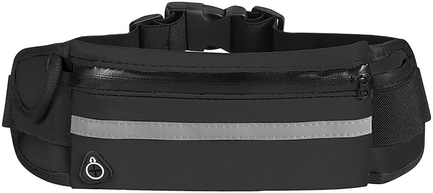 Running Belt Fanny Pack, Bounce Exercise Workout Pouch Lightweight Waist Pack Gym Phone Holder for All Kinds of Phones