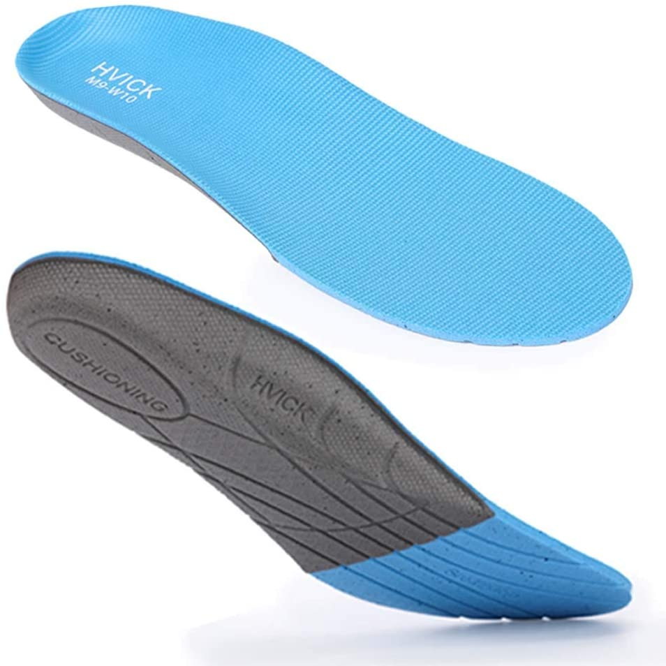 Orthotic Shoes Insoles, Full Length with Arch Support for Women Men Flat Feet, Plantar Fasciitis, M10W11