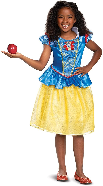 Disney Princess Snow White Classic Girls' Costume, Blue