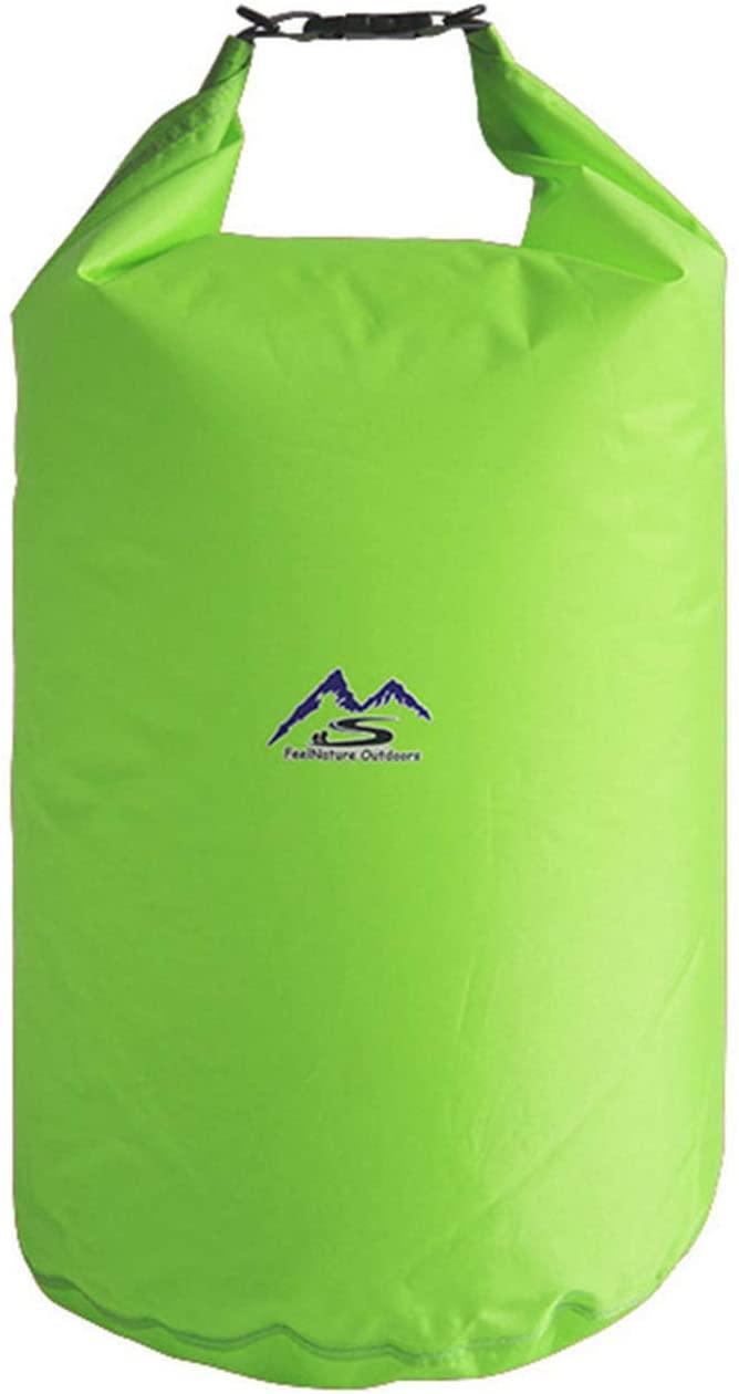 SANON Floating Waterproof Dry Bag,Roll Top Water-Resistant Dry Sack for Outdoor Rafting Kayaking Camping Fishing - Keep Gears Dry & Safe