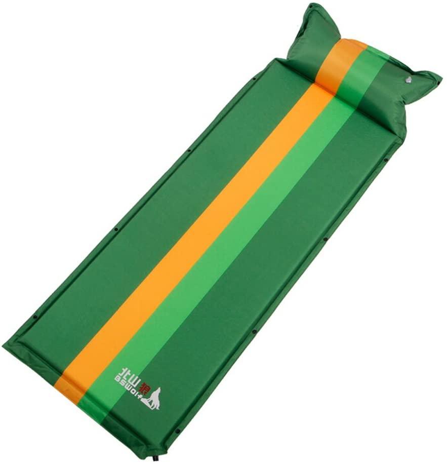 PANDA SUPERSTORE Outdoor Single Automatic Camping Sleeping Air Pad Mattress, Dark Green