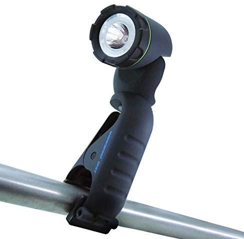Blackfire Clamplight 210 lumens Green LED Flashlight AAA Battery - Case of: 6