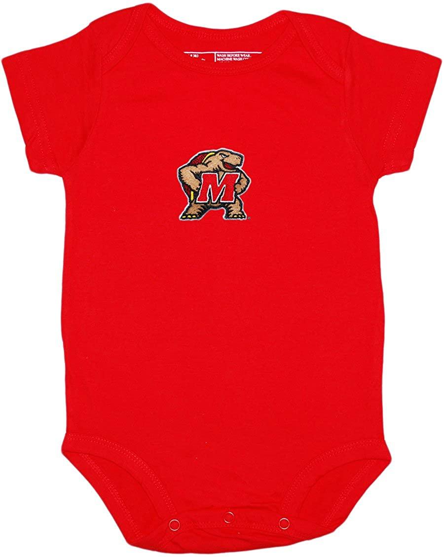 Creative Knitwear University of Maryland Terps Baby Bodysuit