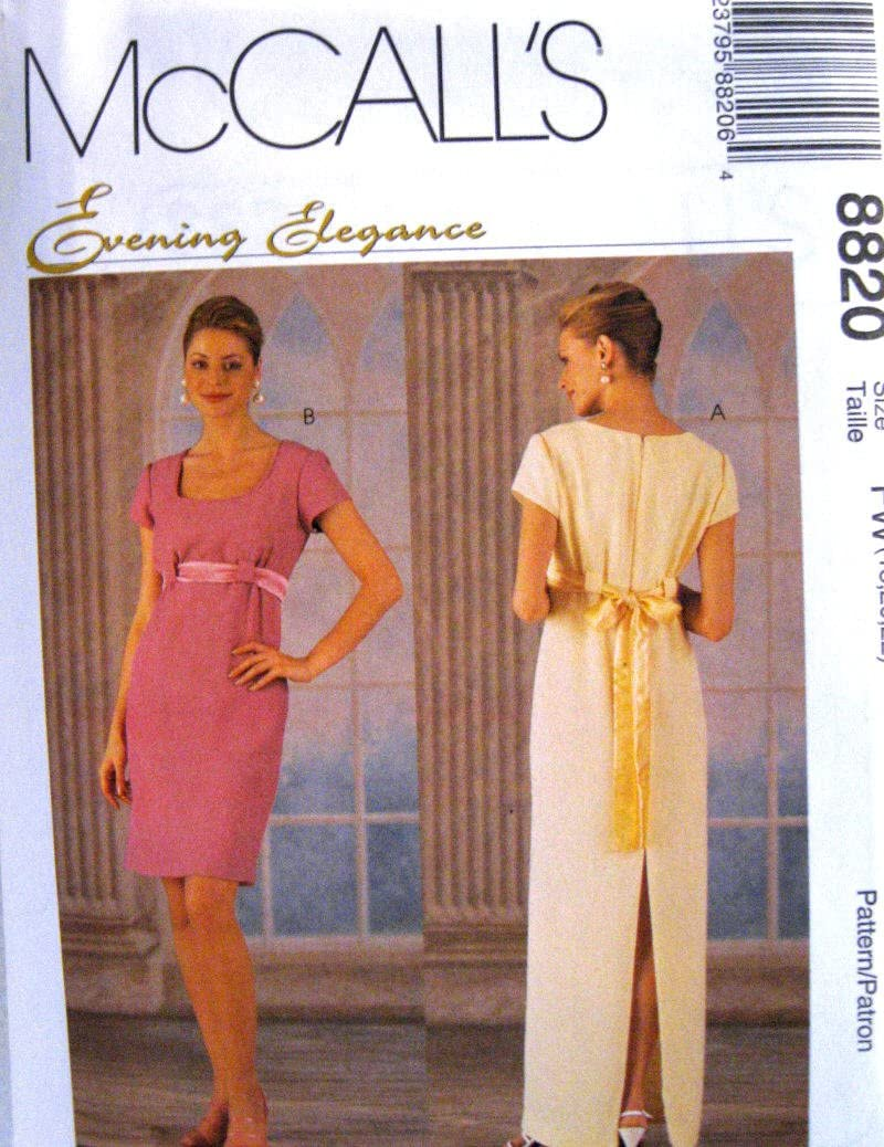 McCall's Sewing Pattern 8820 Misses'