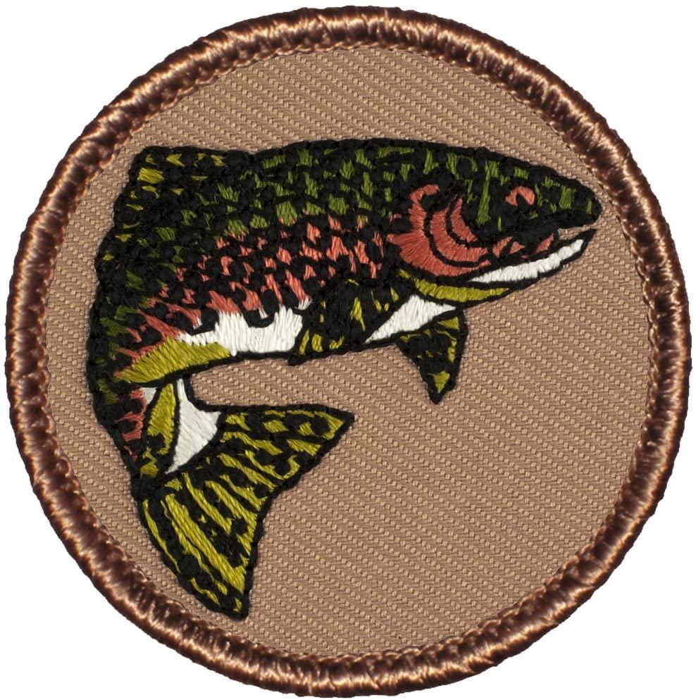 Rainbow Trout Patrol Patch - 2