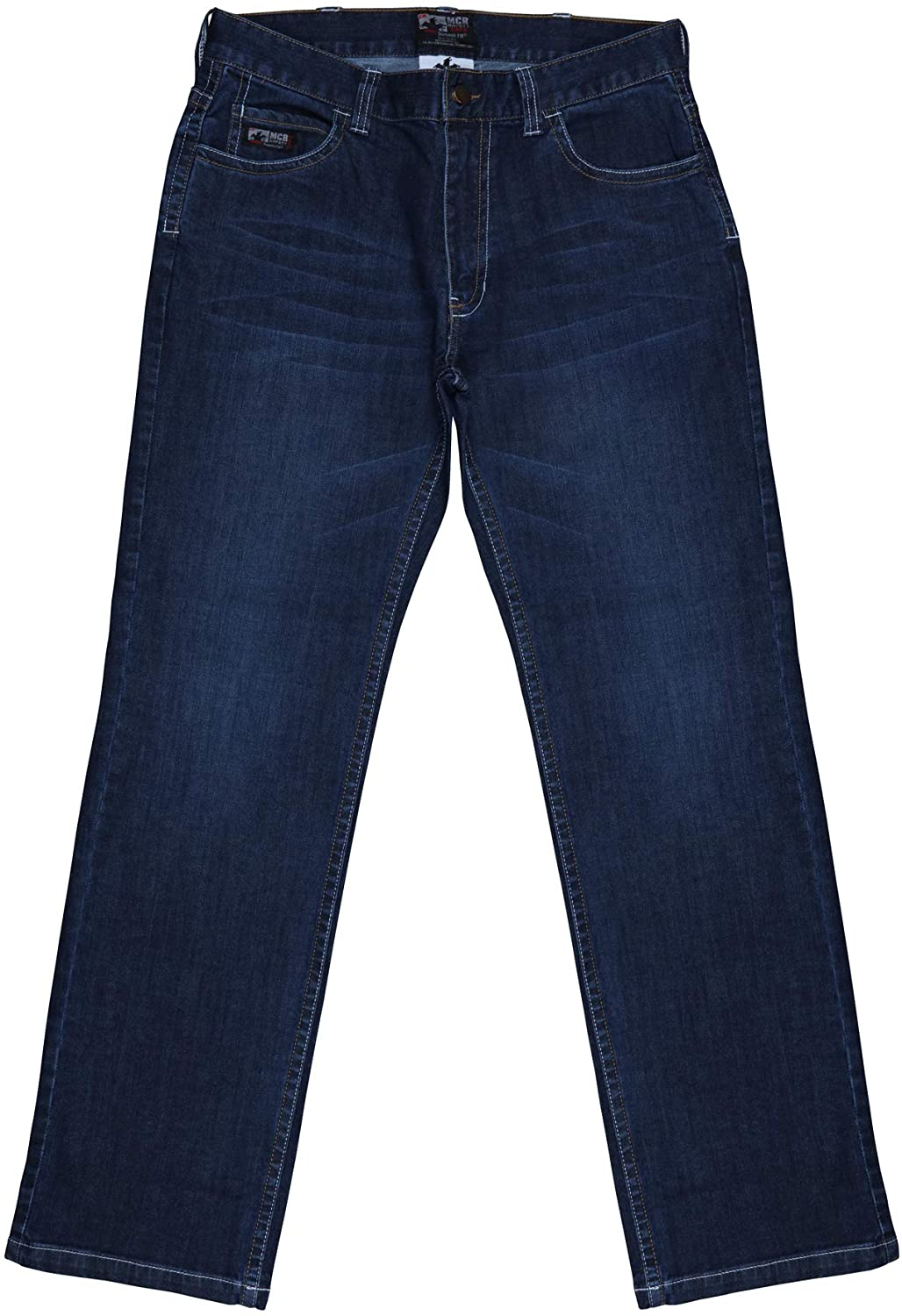 MCR Safety Flame Resistant FR Jeans, Relaxed Lightweight, Men's FR Work Jeans, 42-36