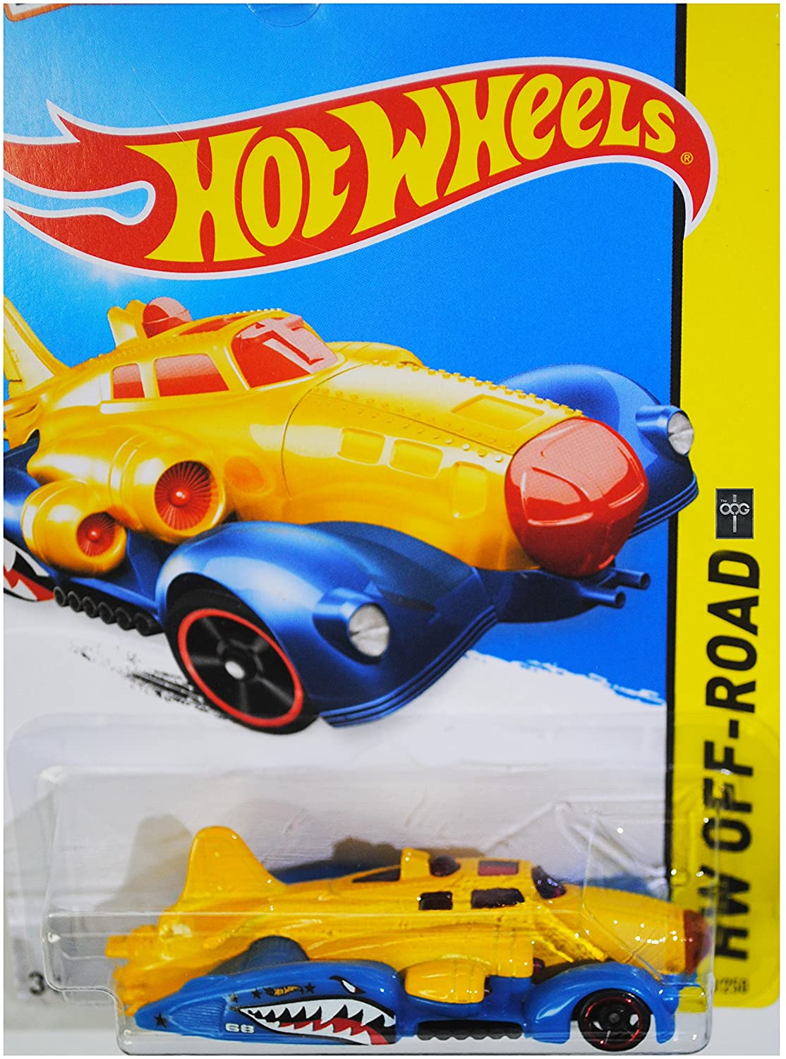 Hot Wheels, 2015 HW Off-Road, Fast Fortress [Yellow/Blue] Die-Cast Vehicle #93/250