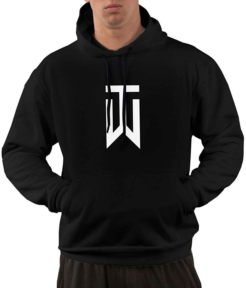 Tiger Woods Man Hooded Casual Hooded Pocket Hoodie Hoody with Pockets