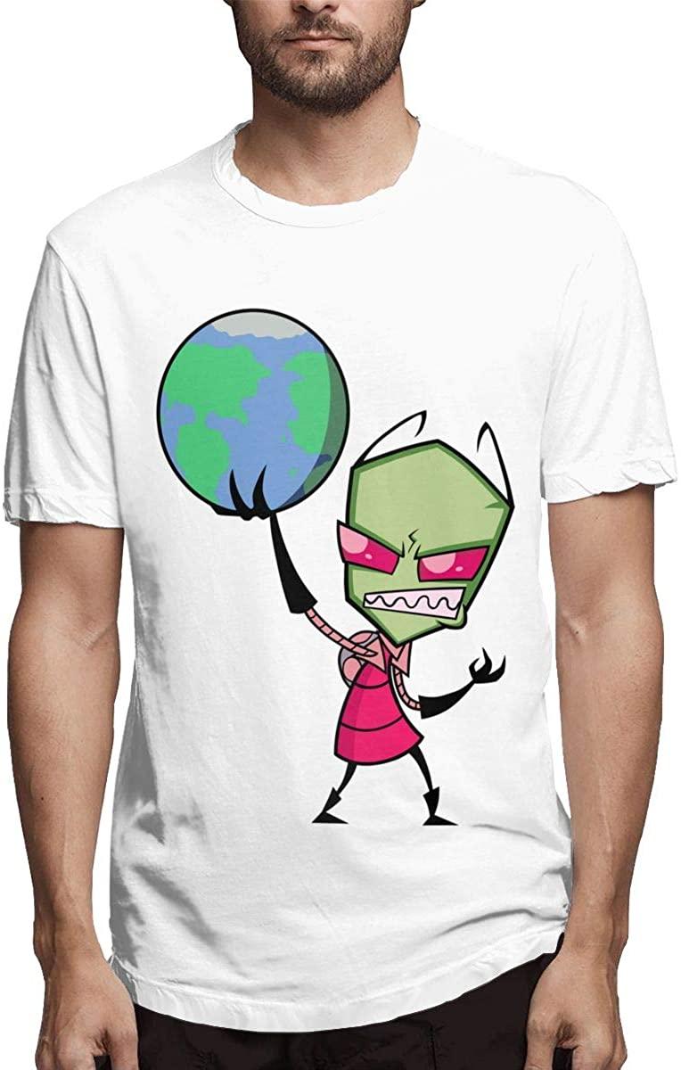 Invader Zim Fashionable Personality Men's Short Sleeve T-Shirt
