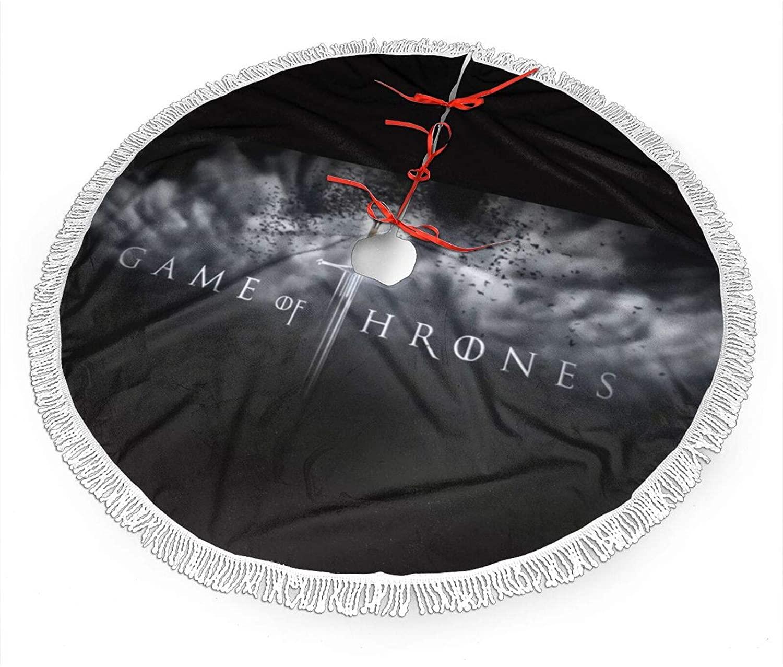 Bingbing Game of Thrones Tree Skirt Christmas 48