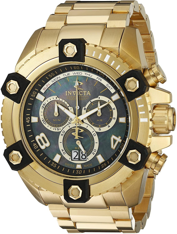 Invicta Men's 0340 Reserve Chronograph Gold Tone Watch