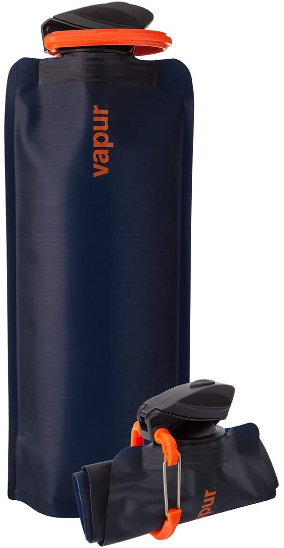 Vapur Eclipse Flexible Water Bottle - with Carabiner
