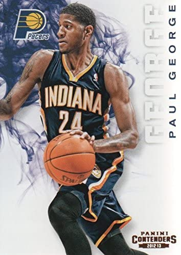 Paul George Basketball Card (Indiana Pacers) 2012 Panini Contenders #45