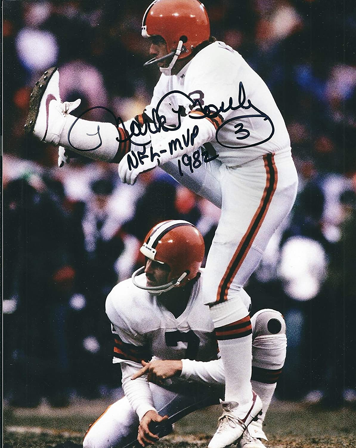 Autographed Mark Moseley 8x10 Cleveland Browns Photo