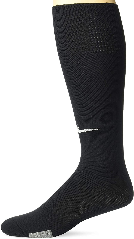 Nike Park IV Cushioned (SOCCER SOCKS) (Black, Men's Shoe size 6-8/ Women's 6-10)