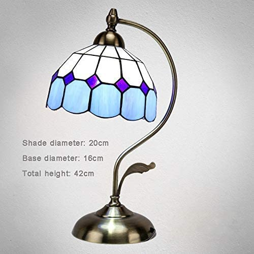 Modern Creative Table Lamp for Bedroom European Style Table Lamp for Living Room Cafe Study Room Restaurant Bar Lamp Romantic Wedding Table Lamp Bedside Desk Lamp (Color : D)
