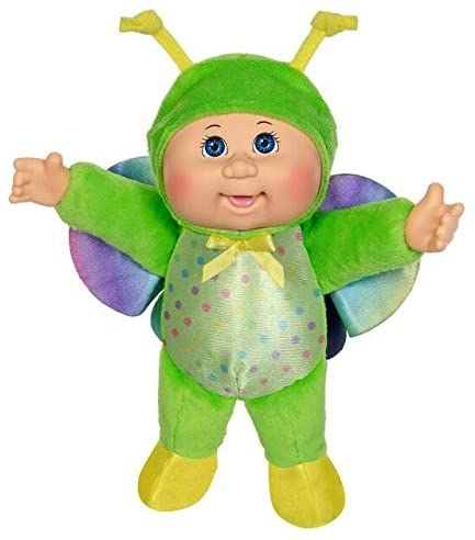 Cabbage Patch Kids Cuties Collection, Rainbow Garden Party Collection Baby Dolls (Stella Butterfly #128)