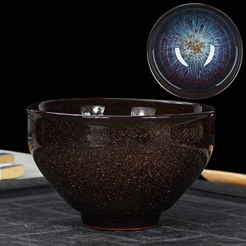 Fine Kiln Transmutation Kongfu Bowl Ceramic Tea Cup, 06, Capacity: 160ml, Size: Large, 8.7x5.2cm Teapot Tea Set