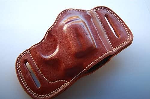 cal38 Handcrafted Leather Belt Slide Holster for SW 686