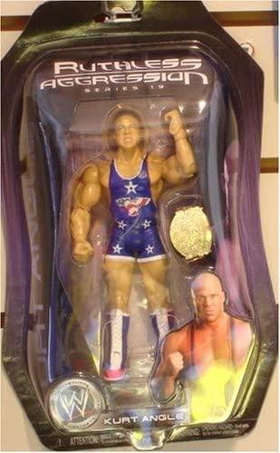 Jakks Pacific Inc WWE Ruthless Aggression Chase The Belt Series 19: Kurt Angle