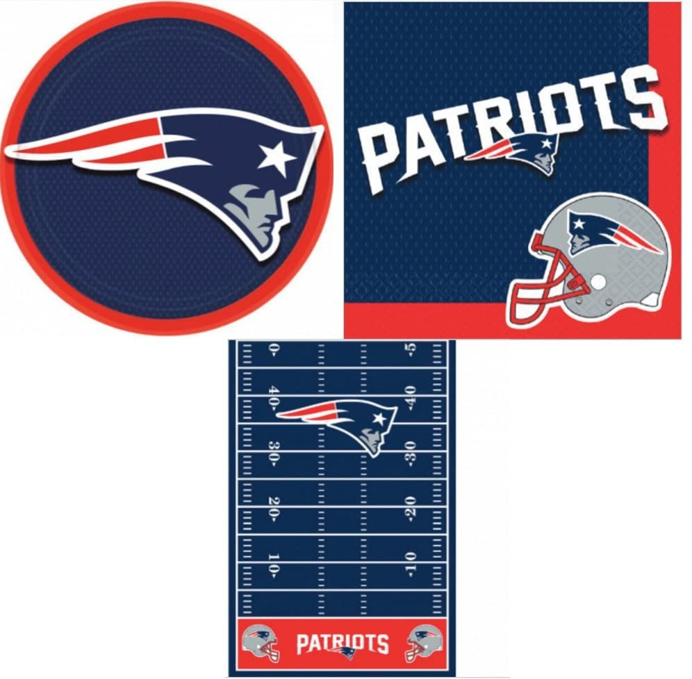 New England Patriot's Party Pack (49 Pieces)