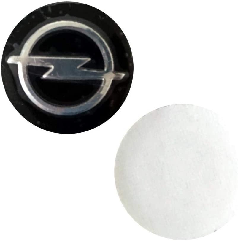 ESC EDP587 2 Pieces Car Key Logo Auto Emblems Dia:1.4cm Car Styling Sticker for Opel