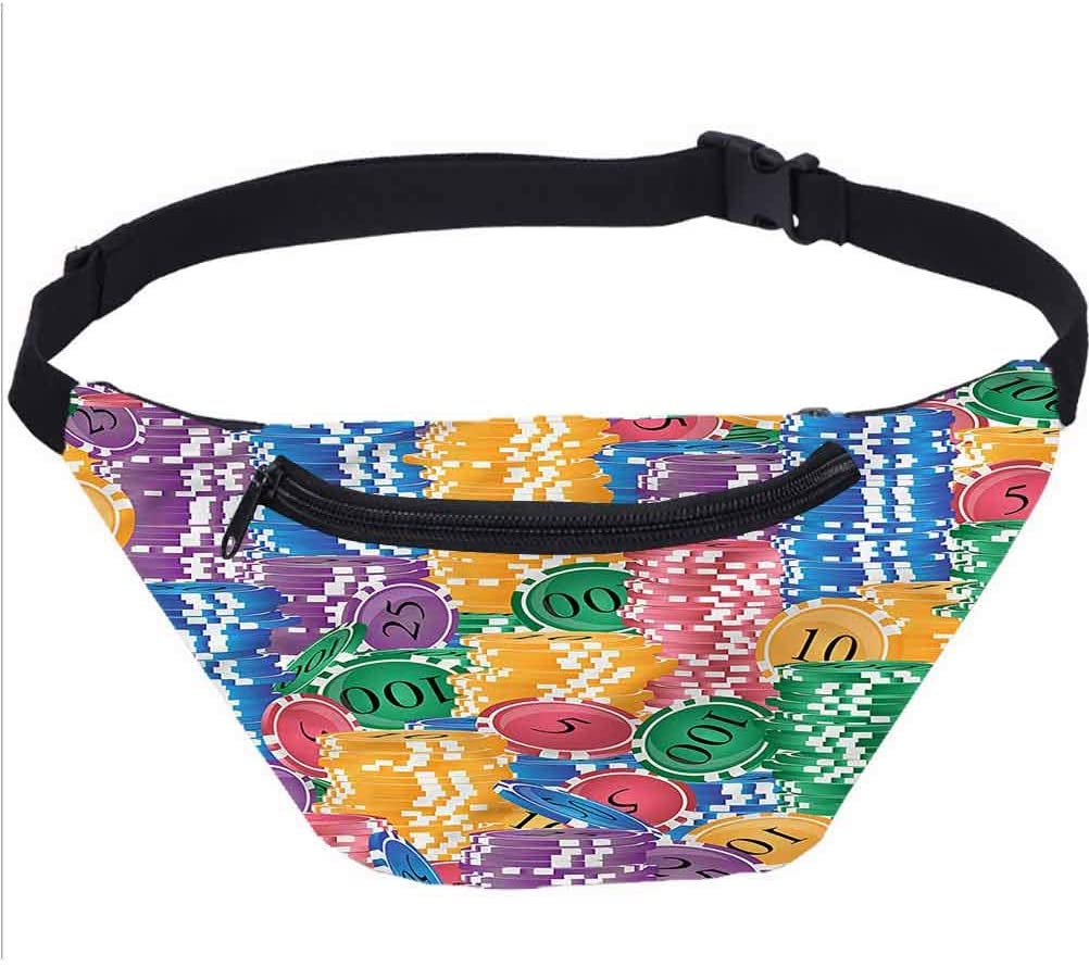 Quirky Travel Fanny Bag,Angry Woman Hands on Hips Waist Pack Travel Crossbody Hip Bag