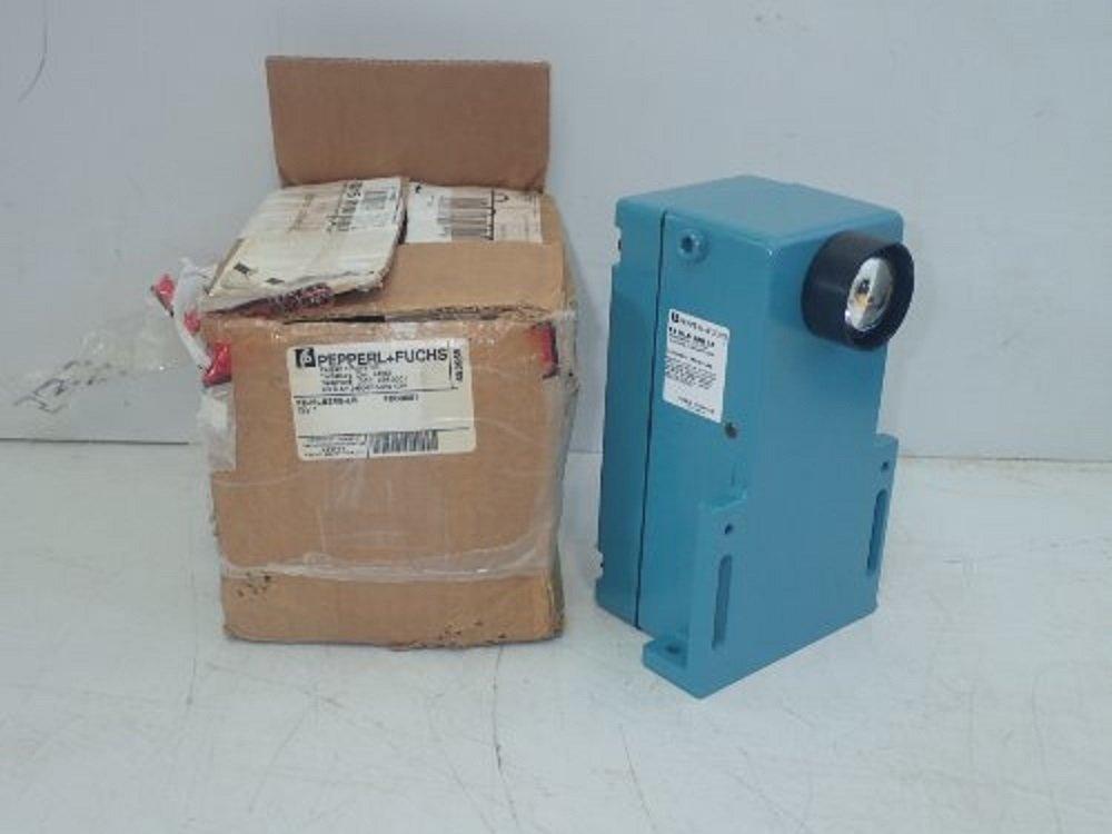 PEPPERL & FUCHS FE-MLS2RB-LR 10 AMP, Through Beam Sensor, Relay Contacts, Discontinued by Manufacturer, 50/60 HZ, Receiver, 1/6-1/3 HP, 115 VAC Input, 3 VA, PHOTOELECTRIC Sensor