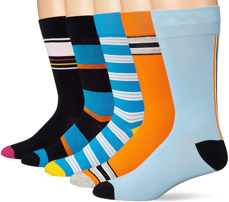 DHgate Brand - Goodthreads Men's 5-Pack Patterned Socks