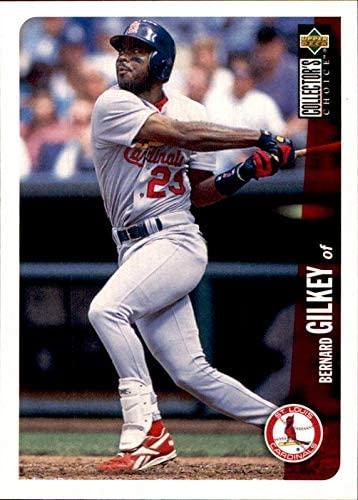 1996 Collector's Choice #288 Bernard Gilkey St. Louis Cardinals MLB Baseball Card