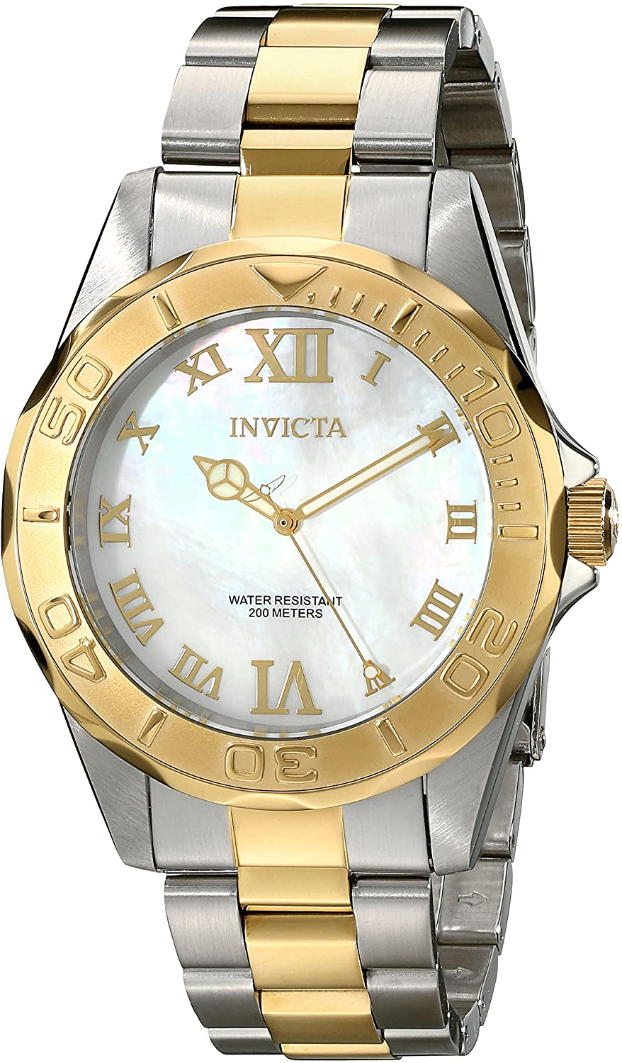 Invicta Men's 17872 Pro Diver Analog Display Swiss Quartz Two Tone Watch
