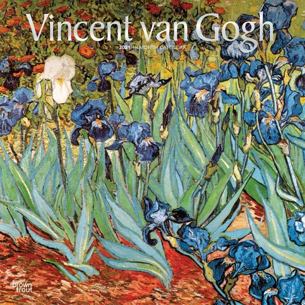 BrownTrout, 2021 Van Gogh Wall Calendar