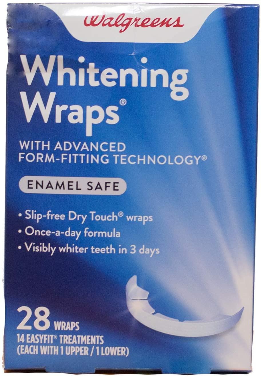 Walgreens Extreme Whitening Wraps 14 ea