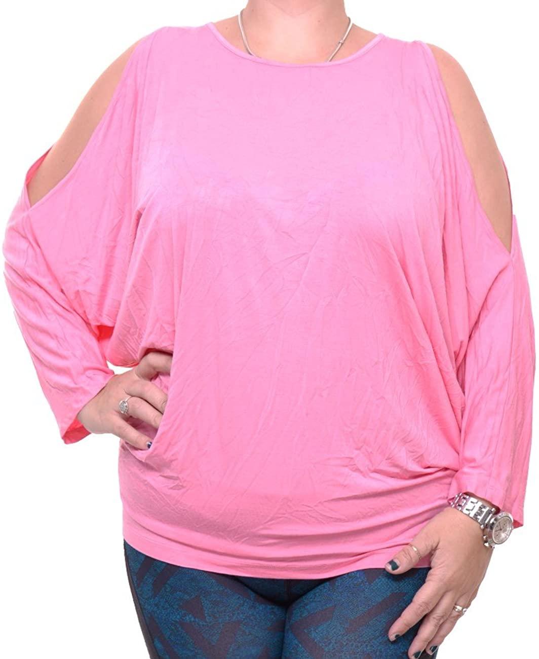 Lauren Ralph Lauren Women's Jersey Cold-Shoulder Top