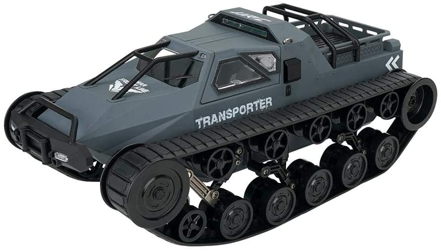 Children's Electric Tank Toy, 2.4G Four-Wheel Drive high-Speed Drift Tank Toy, Tank Electric Remote Control Tank Machine Stunt RC