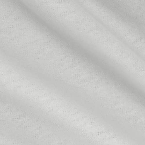 Robert Kaufman Kaufman Flannel Solid White Fabric By The Yard