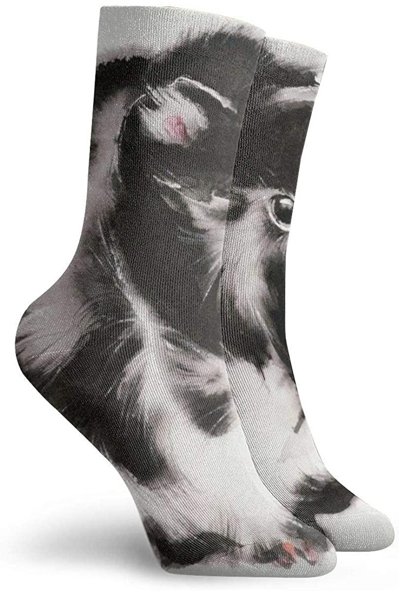 Men Women Dress Socks Guinea Pig Boot Knee Long Hose For Sports