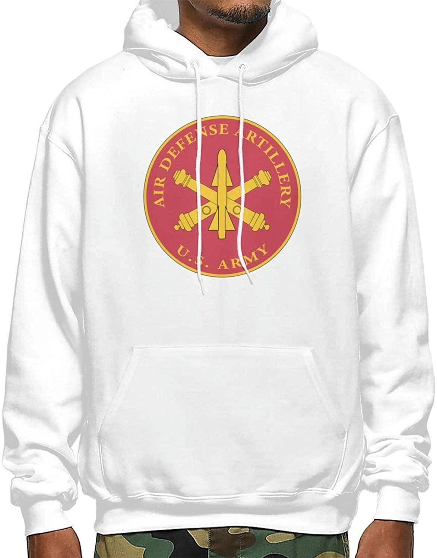 Blooming Us Army Field Artillery Veteran W Branch Man's Hoodies Customized Graphic Pullover Hooded Sweatshirt Pocket Hoody