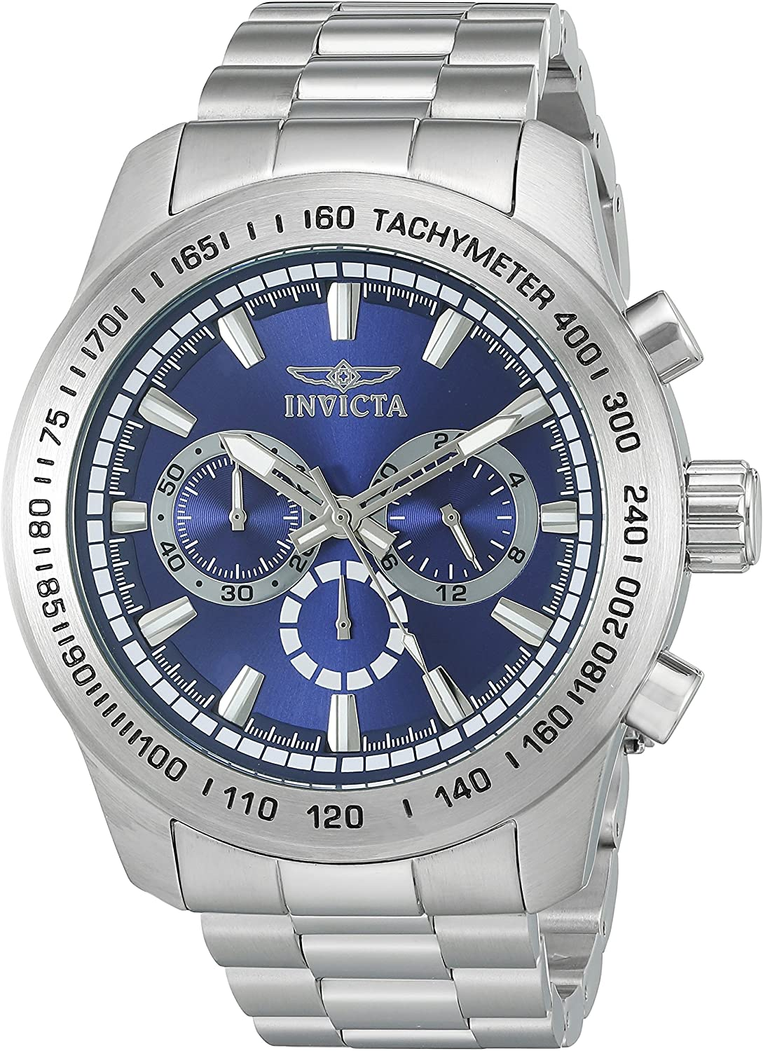 Invicta Men's 'Speedway' Quartz Stainless Steel Casual Watch (Model: 21795)