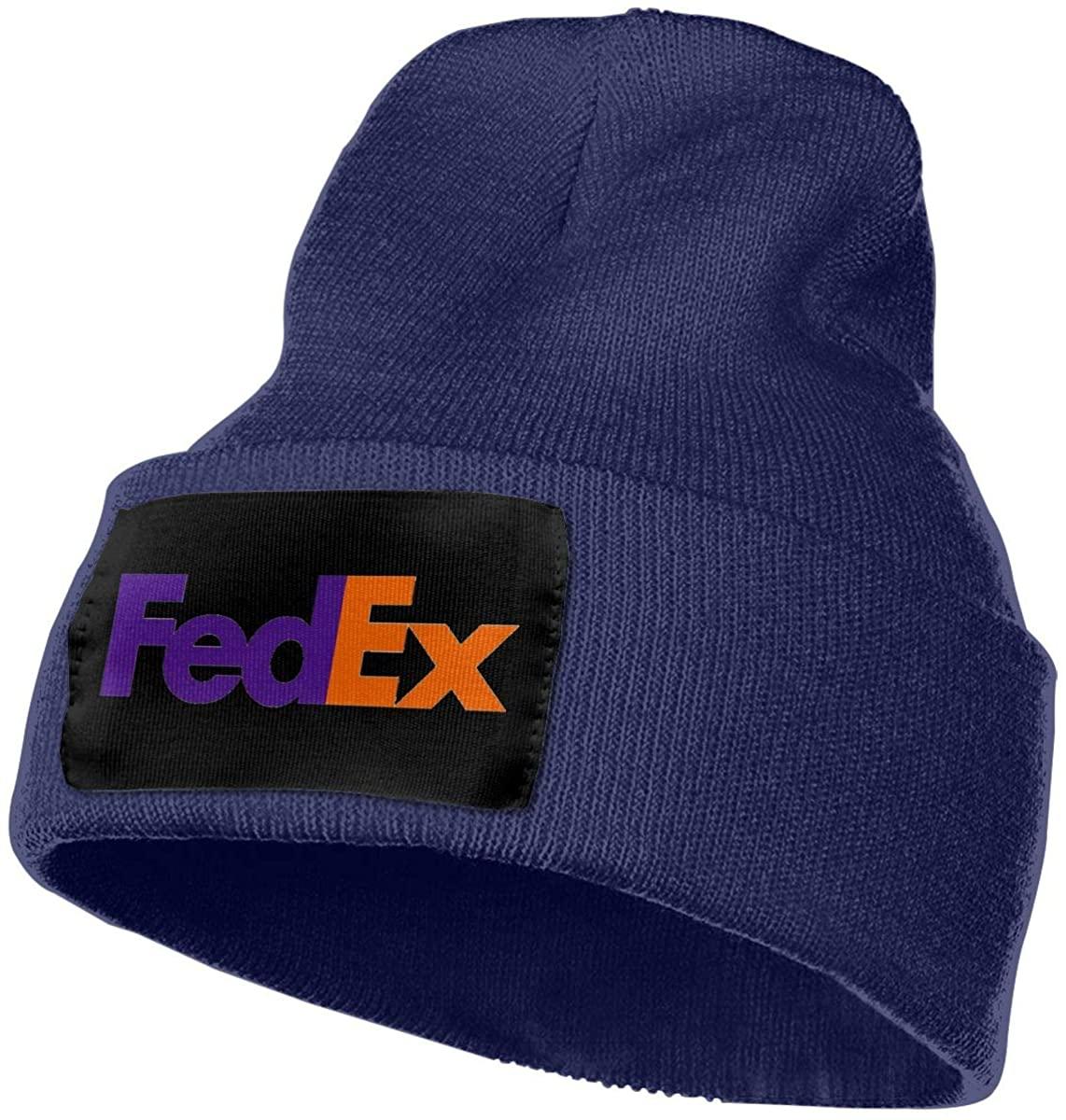 Hxuedan FedEx Warm Knit Cuff Beanie Cap Daily Beanie Hat for Men