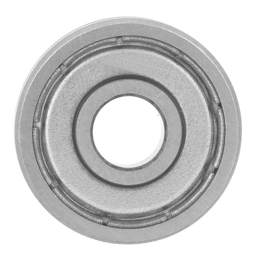 Nitrip 1pcs V6000ZZ V-Groove Guide Wheel Ball Bearings 90° for Spring Machine Straightener 154711mm
