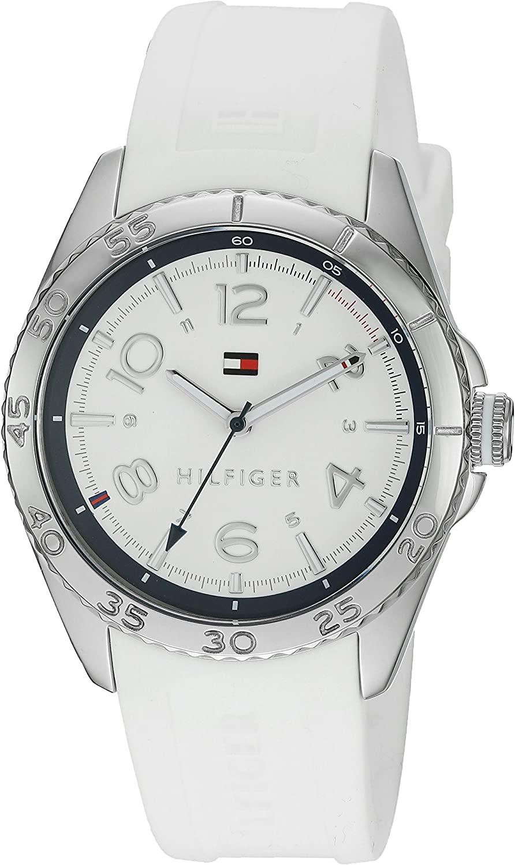 Tommy Hilfiger Women's 1781635 Lizzie Analog Display Japanese Quartz White Watch